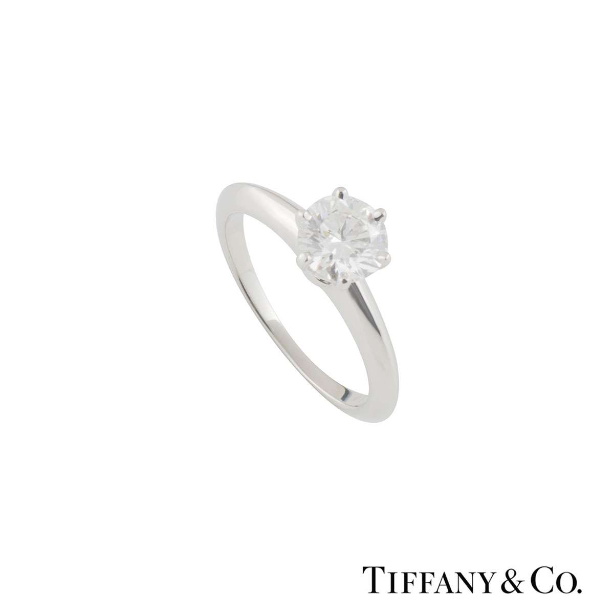 Tiffany & Co. Setting Band Ring XXX 1.12ct I/VVS1